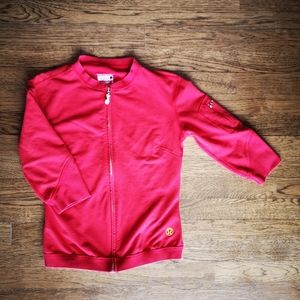 Vintage Lululemon Red Lime Green Repose Jacket